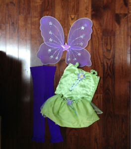 Disney Princess Tinkerbell Costume & Cinderella Top