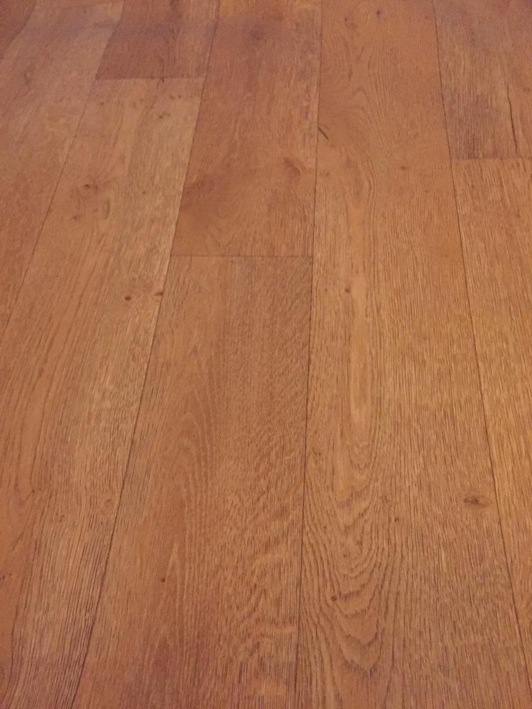 NEW Carpetright wood-effect vinyl/laminate flooring cut-off 1.5m x 0.87m