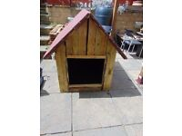 DOG KENNEL,dog house,items,wooden dog house,big wooden dog house