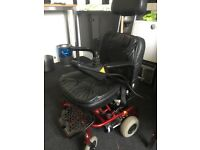 Battery wheel chair shop rider