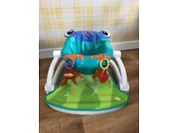 Frog sit me up