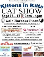 CAT SHOW SEPT 16&17 9AM-4PM COLE HARBOUR PLACE