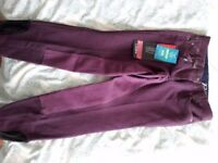 Womens horse riding breeches size 26 (roughly size 10) brand new with tags