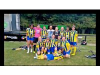 LONDON LADIES FOOTBALL TEAM - NEW PLAYERS REQUIRED