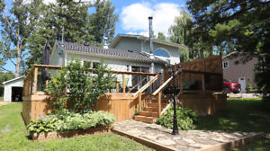 FOR SALE **RICE LAKE HOME OR 4 SEASON COTTAGE NEEDS NOTHING!**
