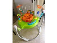Fisher Price Roarin' Rainforest Jumperoo/bouncer