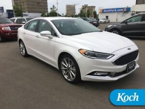 2017 Ford Fusion Platinum  Heated Wheel, Sony Audio, SYNC Conect