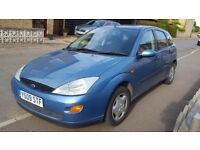 2001 Ford Focus LX 1.8 petrol 5 door manual cheap reliable little family car for quick sale bargain