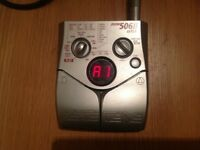 Zoom 506 mkll bass effects pedal