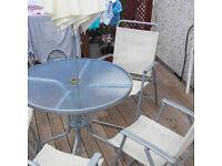 Cool garden furniture set