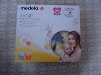 Medela Swing Electric Breast Pump plus Extras