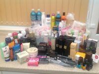 Toiletries & cosmetics (joblot)