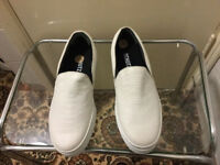 White Leather shoes in very good condition