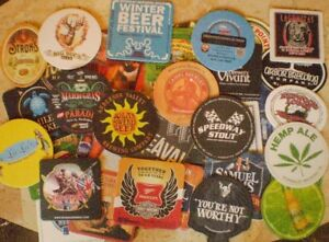 42 Different unused beer coasters from U.S.A.