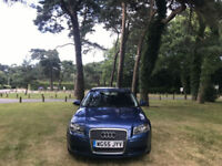 2005/55 Audi A3 1.9 TDI SE Sportback Turbo Diesel 5 Door Hatchback Blue
