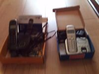 TWO HOME PHONES BT CONCERO 1400 BT STUDIO 4500