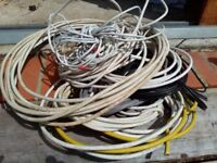 Miscellanous power, earth cables of various lengths