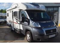 2013 Adria Matrix M650SF. Electric drop down bed. French bed. 6 Berth Motorhome