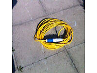 Caravan/camping hook up cable 22 metres 2.5mm