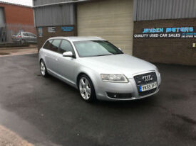 2005 55 AUDI AVANT A6 2.7 TDI S- LINE ESTATE,ONLY 95000 MILES WARRANTED