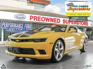 2015 Chevrolet Camaro SS 2SS *** MANUAL AND LOW KMS!***