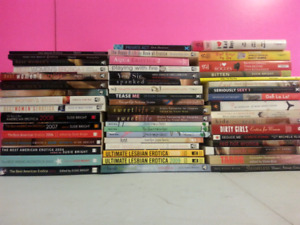 Large collection of adult books