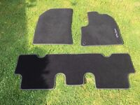 Citroen C4 Picasso Original Factory fabric mats (front and rear) for models 2013 onwards