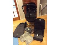 Bugaboo Cameleon 2 Black/Charcoal with extra accessories - the whole package!