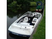 bayliner capri 2050 speed boat 5.0 v8 mercruiser