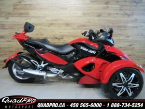 2009 Can-Am Spyder GS SE5 64.95$/SEMAINE