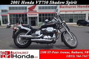 2001 Honda VT750 Shadow Spirit
