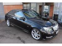Mercedes C350 CDI BLUEEFFICIENCY SPORT-LOW MILES-V6 DIESEL
