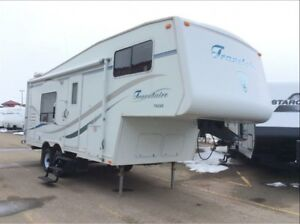 2004 Travelaire TW248 Short Fifth with Receiver!