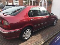 Rover 45 Spirit 1.6 Manual great condition 12 Months MOT