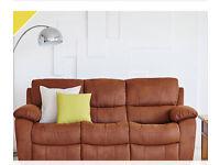 Wanted - Harvey's Bel Air Brown Suede Sofa