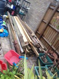 Joblot of building timber