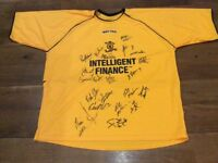 Livingston FC League Cup Winners 2003/2004 signed shirt