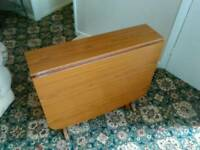 Retro style formica kitchen table.