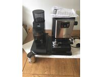 Gaggia coffee machine and essentials