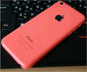 Two iPhone 5c- 16GB White and Pink