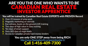 We are looking for Real Estate Apprentices in Sault Ste. Marie