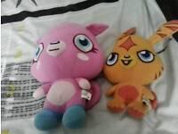 2 Moushies Katsu & Poppet.