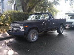 1974 Jeep J10 Pick Up Truck