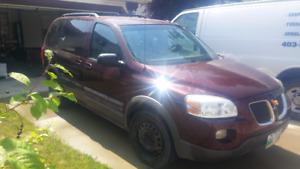 2008 Pontiac Montana Minivan SV6 7 seats good condition