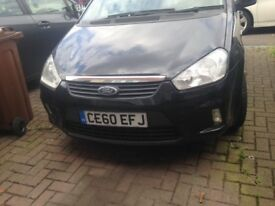 Ford C-Max, 2010 2 keys, full service history, 1 keeper from new,