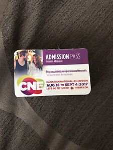 CNE // Canadian National Exhibition General Admission Pass