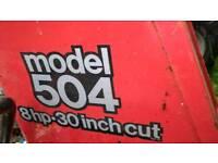 Mountfield ride on mower deck