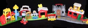 Fisher Price Little People Set Lot (6sets, 2 people, 1 plane)
