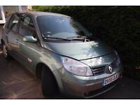 Renault Megane Scenic 2006 1.6 5dr Automatic - For Spares / Repair - Cash on Collection Sheffield S2