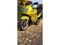 Suzuki GSXF600 low millage
